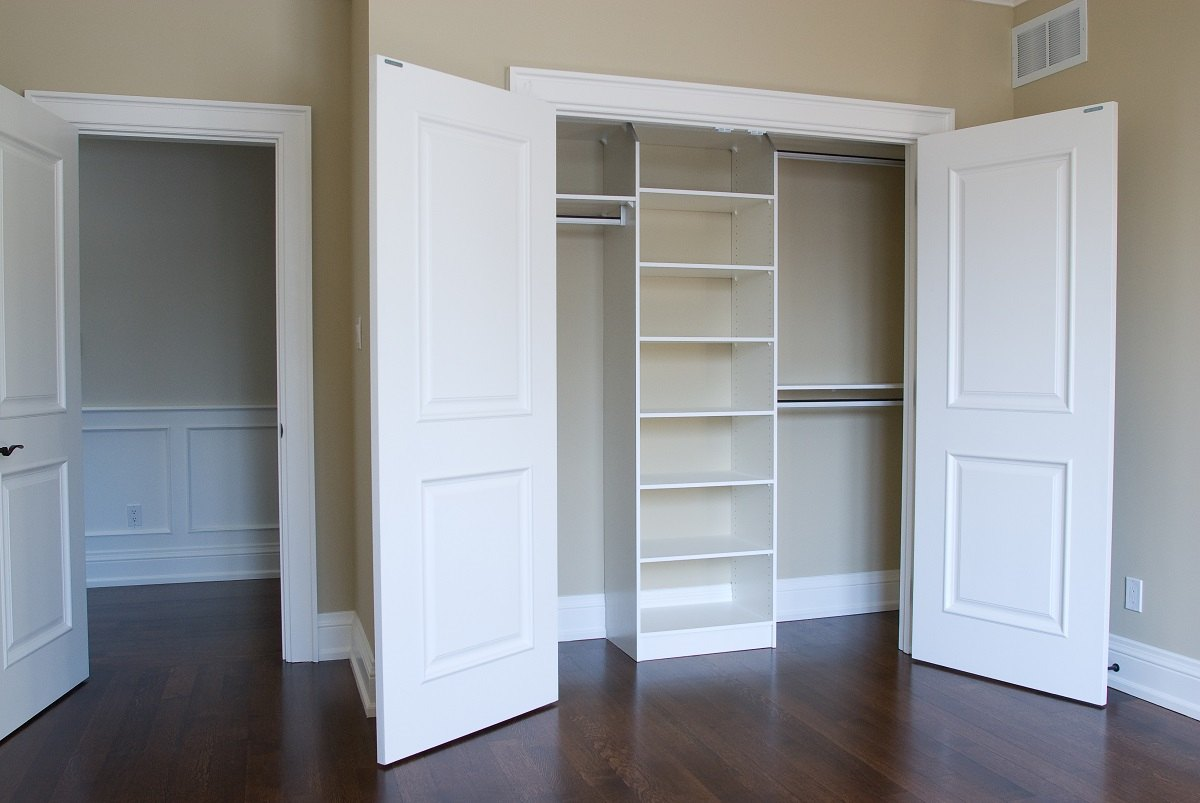 Walk in closet - Custom cabinet doors toronto ...